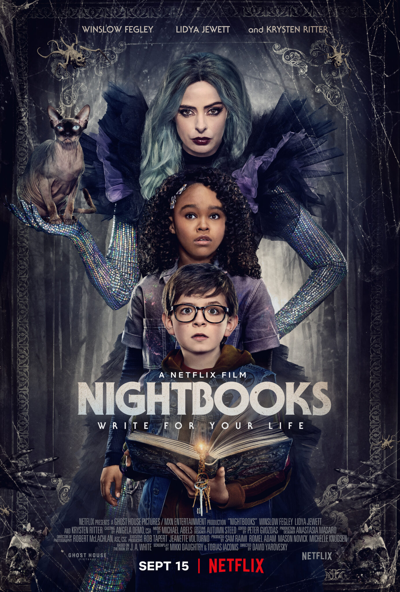 Das Plakat zum Gruselfilm Nightbooks