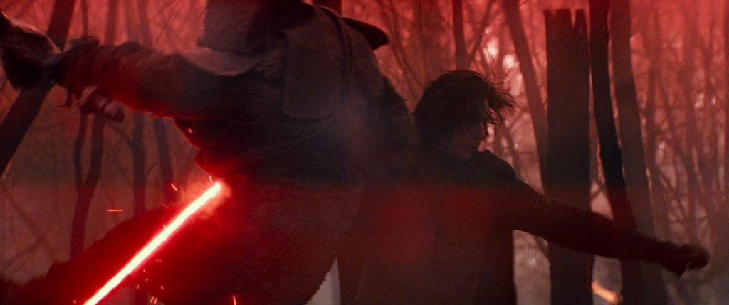 Kylo Ren kämpft wutentbrannt