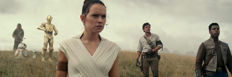 Die Heldentruppe um Rey aus Star Wars: Der Aufstieg Skywalkers