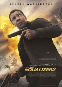 """Filmplakat zu """"The Equalizer 2"""" © Sony Pictures"""