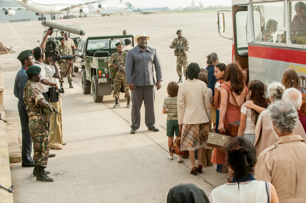 "Nonso Anozie als ""Idi Amin"" in ""7 Tage in Entebbe"" © Entertainment One Germany"