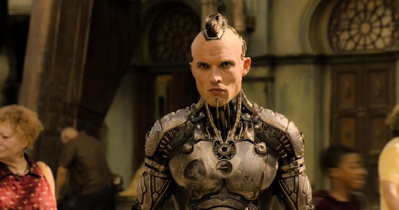 Ed Skrein als Kopfgeldjäger Zapan ©20th Century Fox