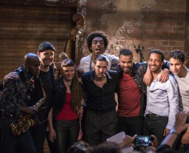 Die Hausband des Jazzclubs The Eddy