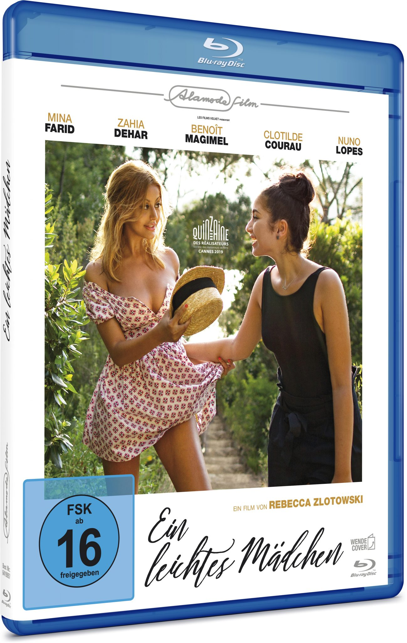 Das Cover der Blu-ray zeigt Naïma (Mina Farid) und Sofia (Zahia Dehar) in Sommerkleidern.
