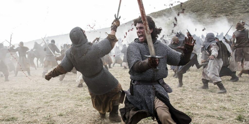 Der spanischer Eroberer El Cid bewährt sich als Kämpfer auf dem Schlachtfeld, wo er mit Kampfschrei auf den Feind losgeht - Neu bei Prime im Dezember 2020