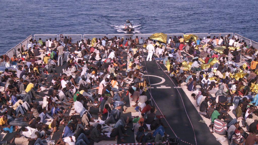 Bewegende Bilder von der Rettungsaktion Mare Nostrum ©Majestic Filmverleih