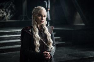 Emilia Clarke in Game of Thrones Staffel 7 aus 2017