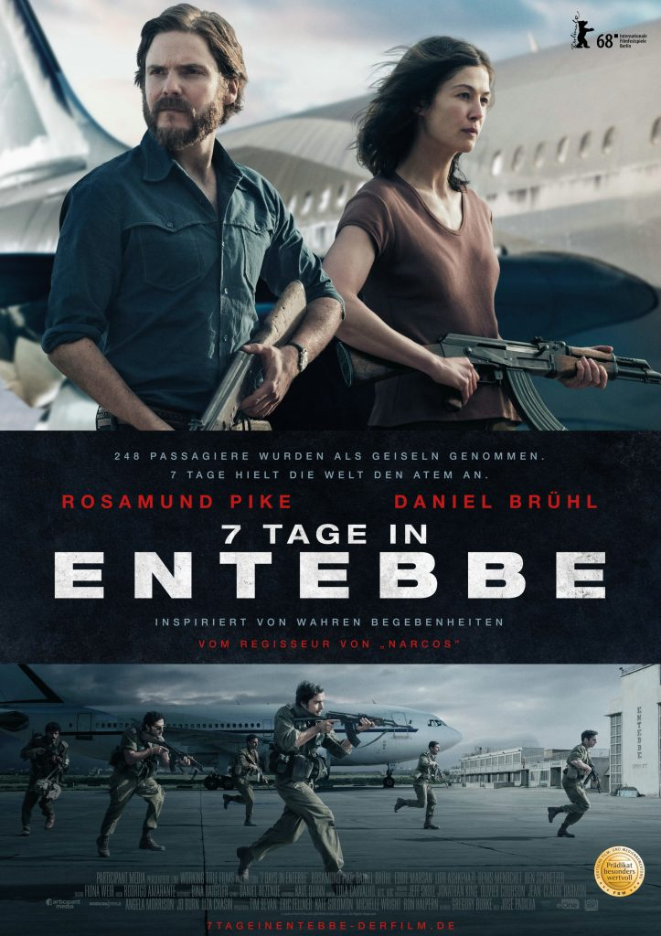 "Filmplakat von ""7 Tage in Entebbe"" © Entertainment One Germany"