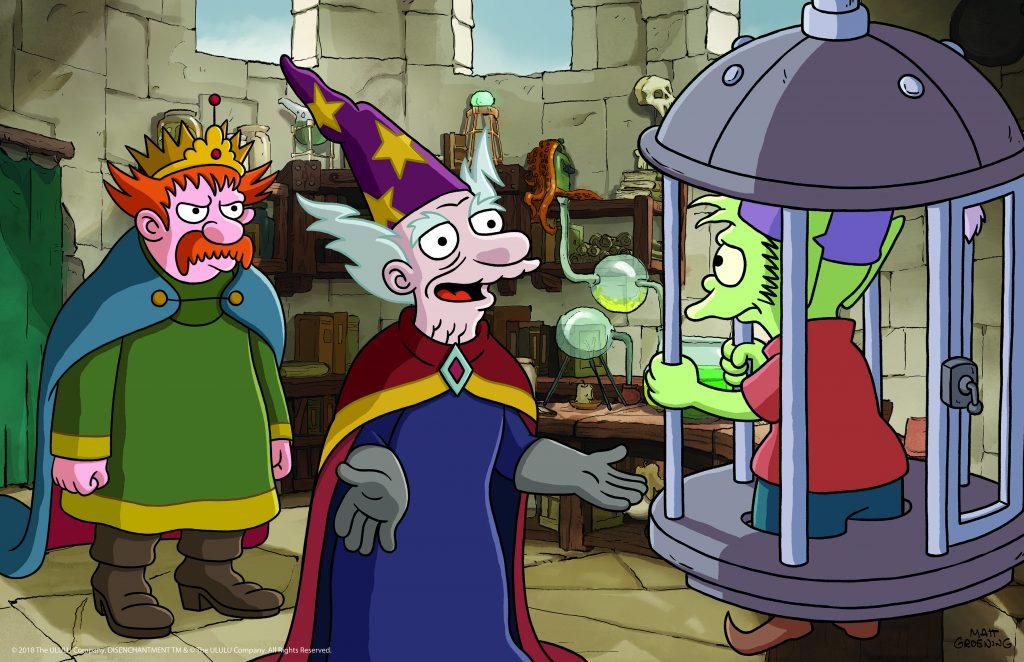 Der Hofzauberer Dreamlands, der für seinen König etwas ganz bestimmtes von Elfo braucht. © Netflix