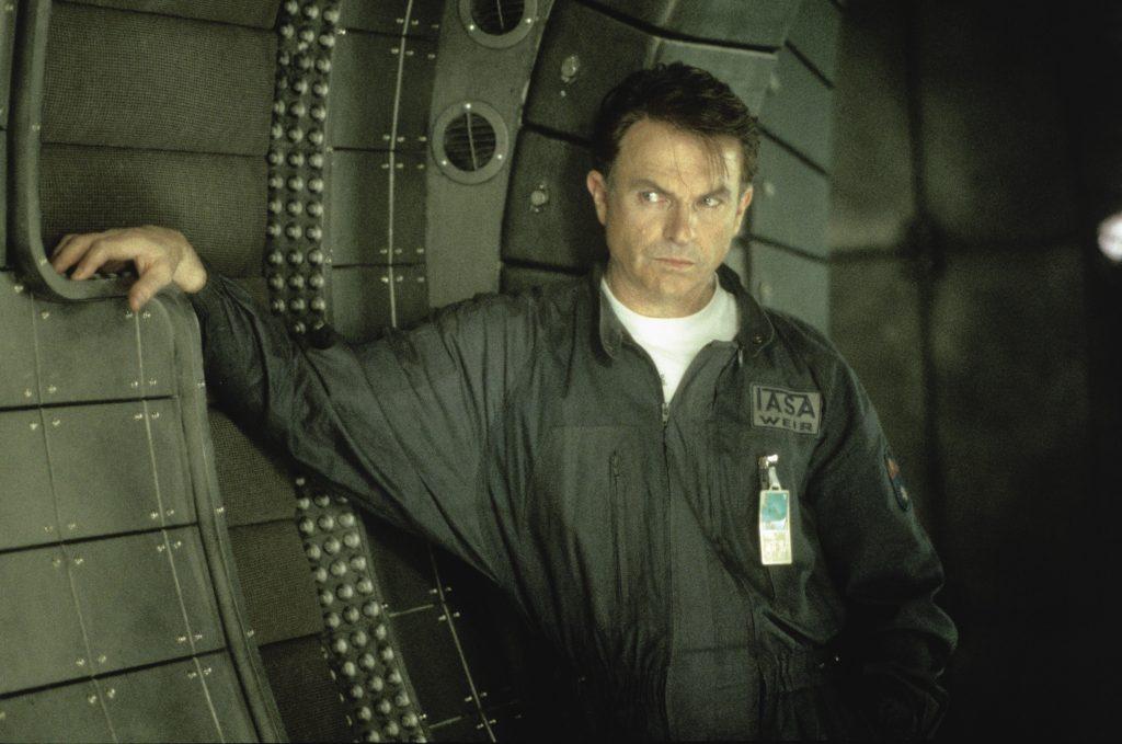"""Sam Neill als Wissenschaftler """"Weir"""", in """"Event Horizon"""", von © 2018 Paramount Pictures"""