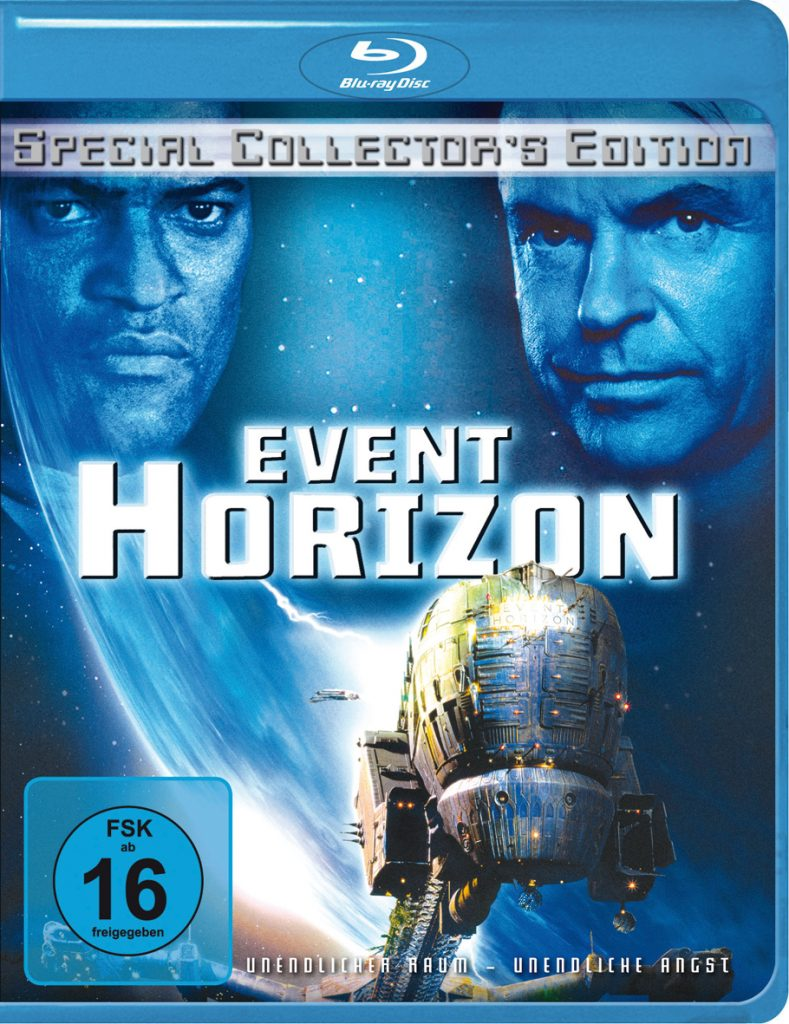 "Blu-Ray Cover der Collector's Edition von ""Event Horizon"", von © 2018 Paramount Pictures"