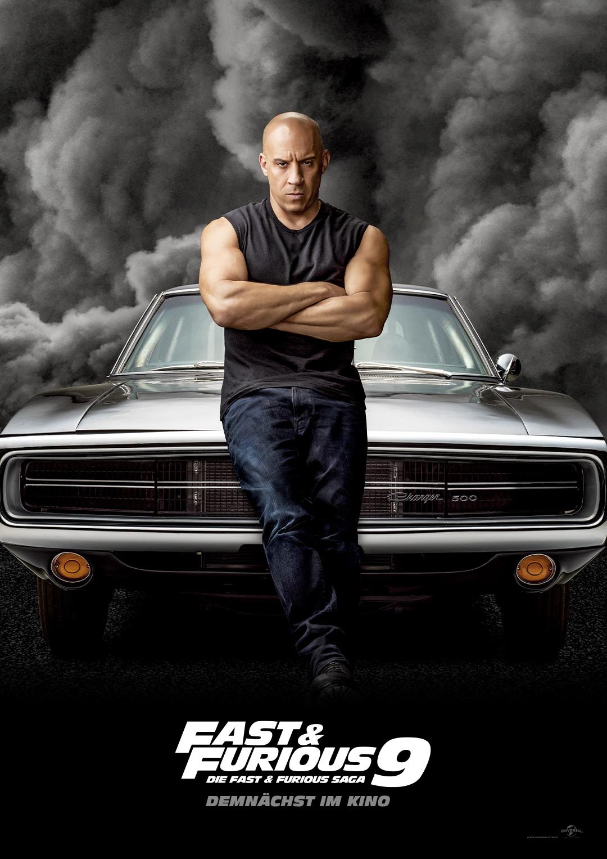 Vin Diesel spielt in Fast and Furious 9 wieder Dom Toretto
