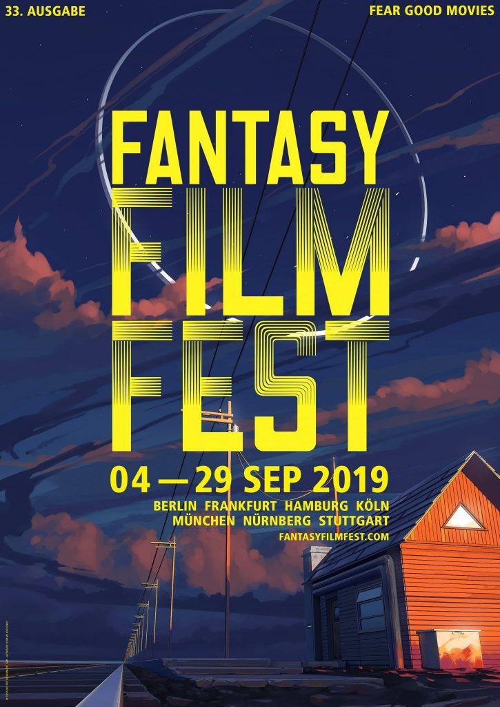 Das Poster des Fantasy Filmfest 2019