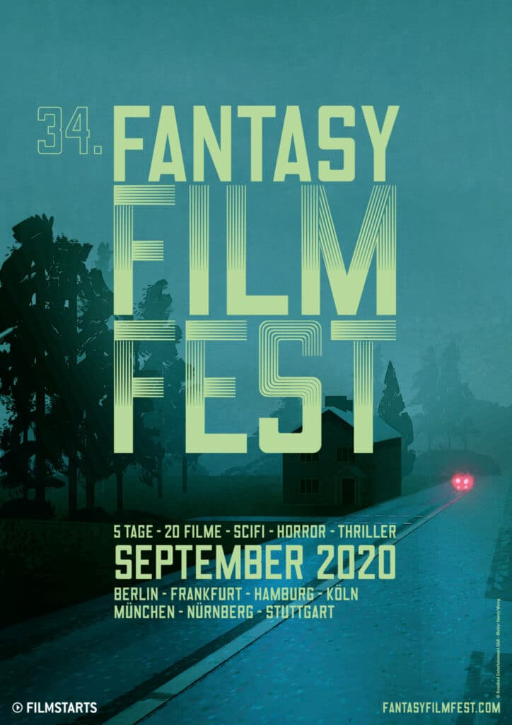 Das Poster zum Fantasy Filmfest 2020
