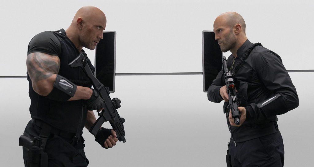 Hobbs und Shaw müssen zusammenarbeiten in Fast & Furious Hobbs & Shaw © Universal Pictures