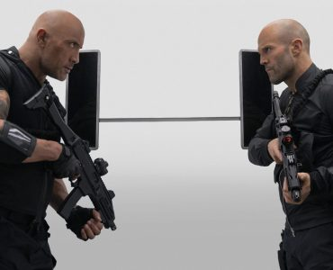 Dwayne Johnson (l.) und Jason Statham (r.) in Fast & Furious Hobbs & Shaw © Universal Pictures