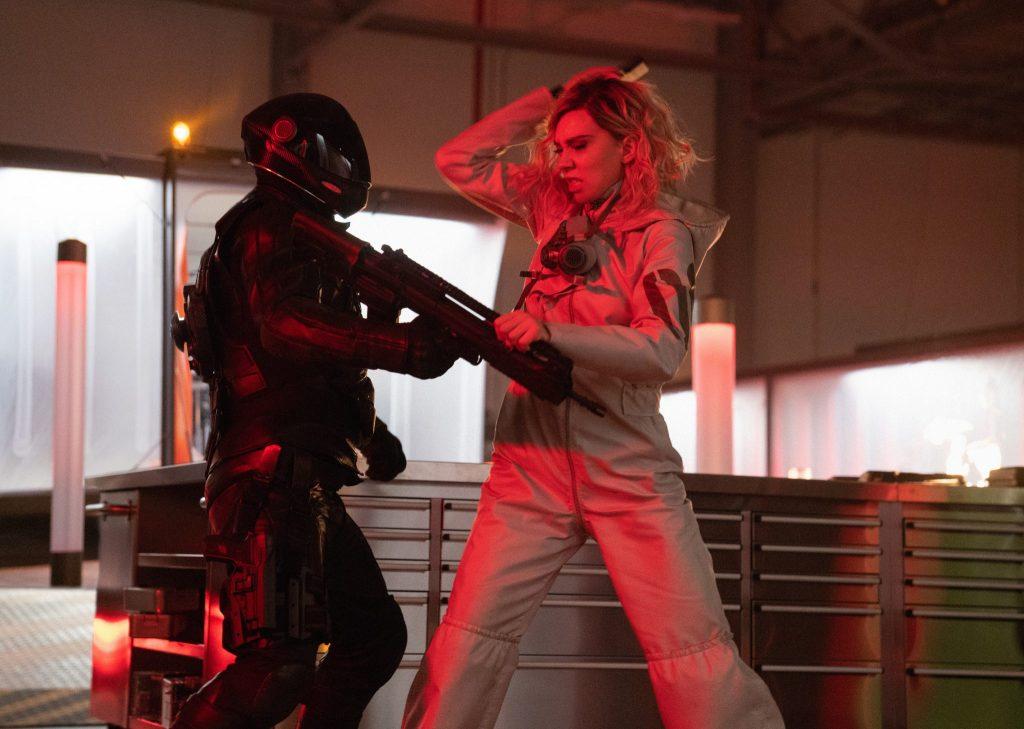 Vanessa Kirby in einer der Kampfszenen in Fast & Furious Hobbs & Shaw © Universal Pictures