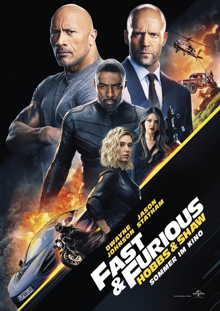 Das Kinoplakat zu Fast & Furious Hobbs & Shaw © Universal Pictures