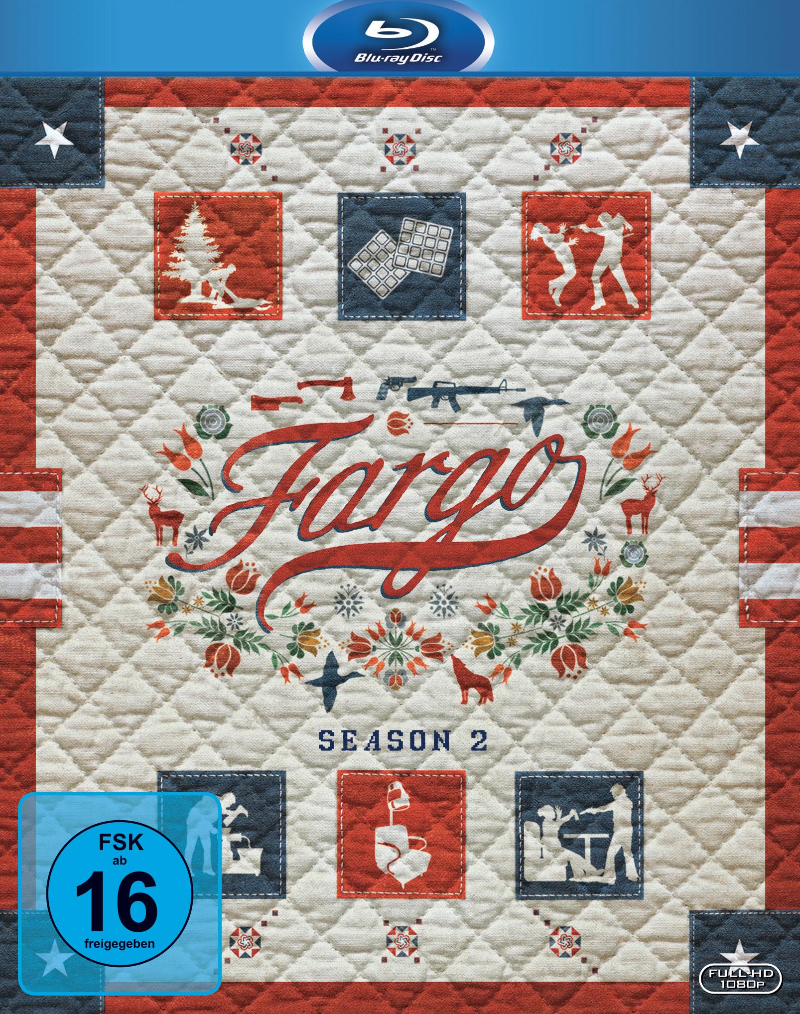 Bluray-Cover von Fargo Staffel 2 aus 2017 von ©20th Century Fox Home Entertainment 2016
