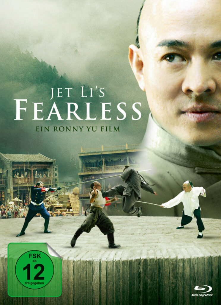 Front-Covermotiv des Mediabooks zu Fearless