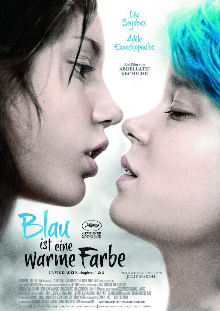 Filmplakat von Blau ist eine warme Farbe ©Alamode Film
