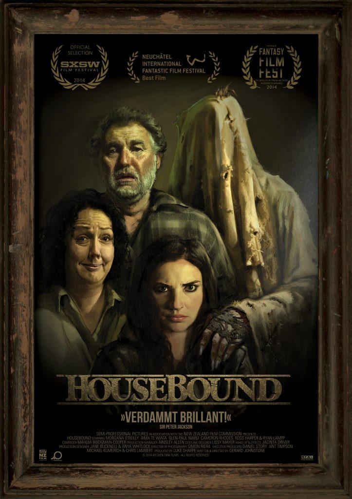 Das offizielle Filmplakat von Housebound. © MFA+ FilmDistribution e.K.