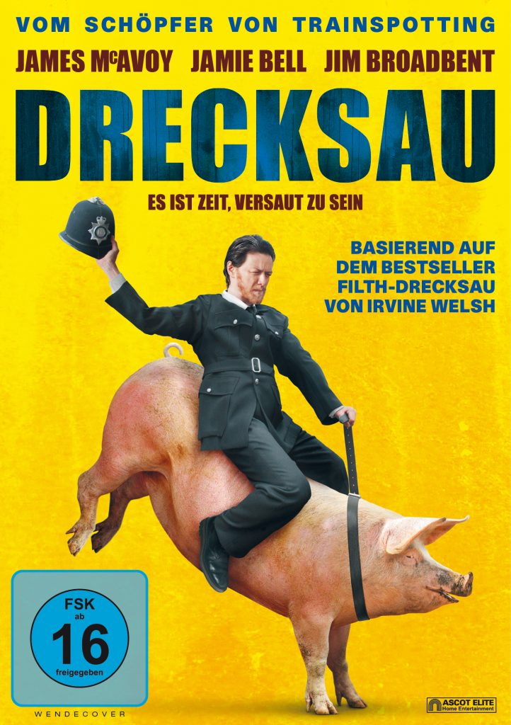 Das DVD Cover von Drecksau. © Ascot Elite Home Entertainment
