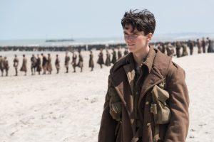 Fionn Whitehead in Dunkirk von 2017