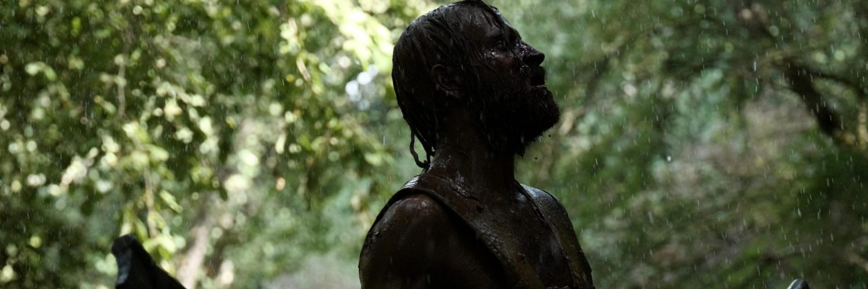 Alessandro Borghi als Remus im Kampgetümmel