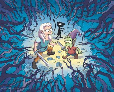 Prinzessin Bean, Kobold Elfo und Dämon Luci in Disenchantment ©Netflix