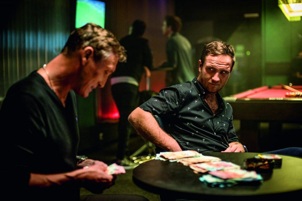 Frederick Lau und Oliver Masucci beim Spielen in Spielmacher