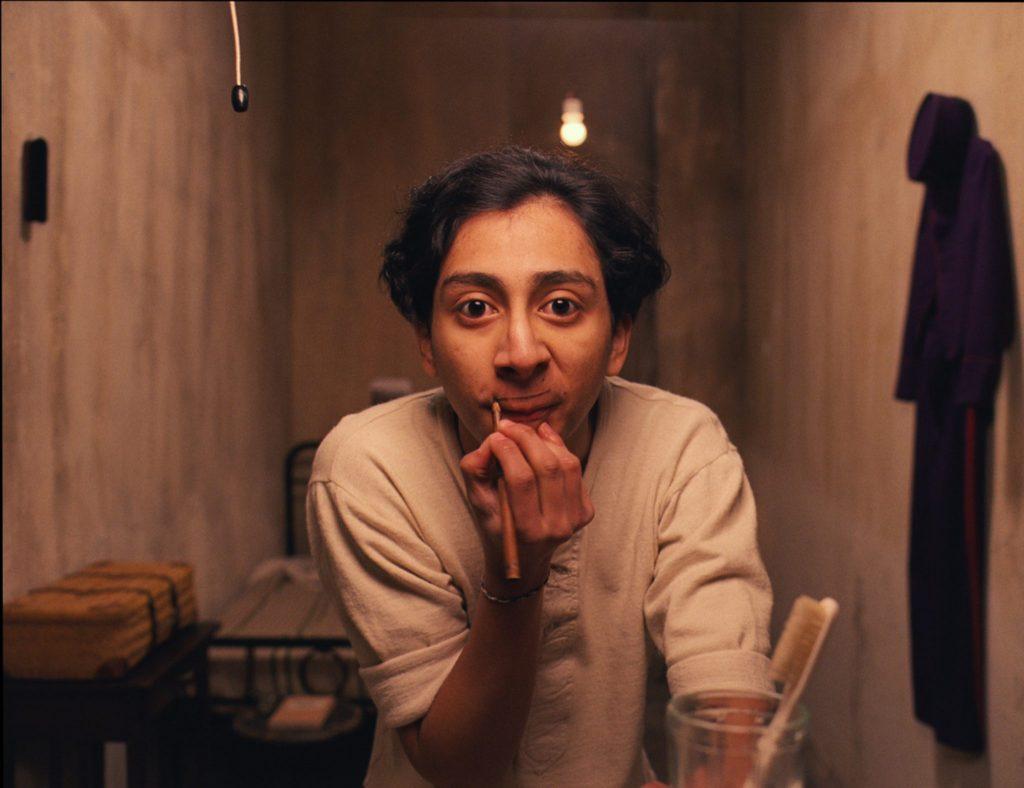 Zéro Moustafa (F. Murray Abraham) in seiner Zeit als Page im Grand Budapest Hotel