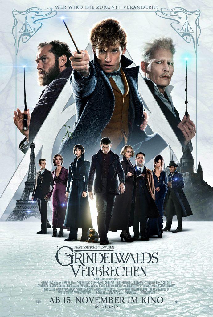 Das offizielle Kinoplakat zu Phantastische Tierwesen: Grindelwalds Verbrechen. © Warner Bros. Entertainment Inc.