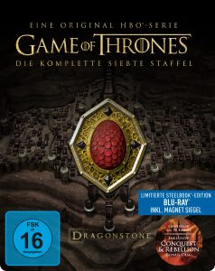 Steelbook-Cover von Game of Thrones Staffel 7 aus 2017