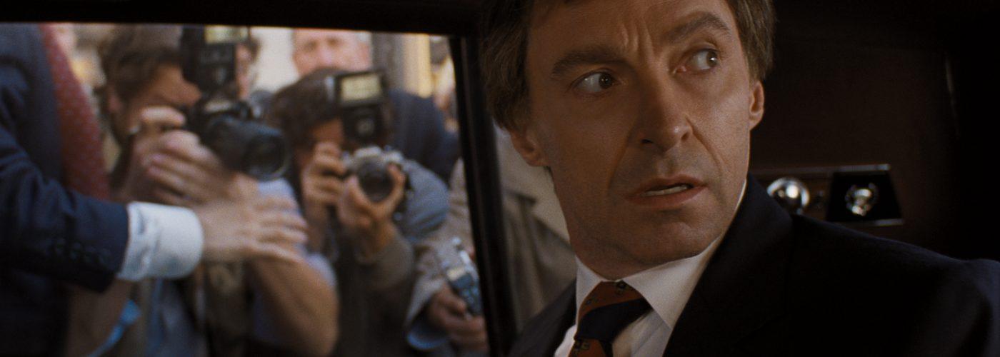 Gary Hart versucht die Presse loszuwerden in Der Spitzenkandidat © 2018 Sony Pictures Entertainment GmbH