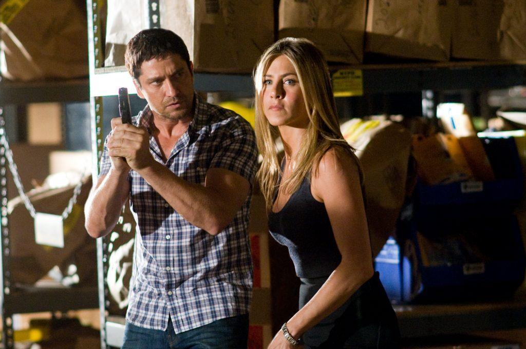 Gerard Butler und Jennifer Aniston in Der Kautions Cop von 2010