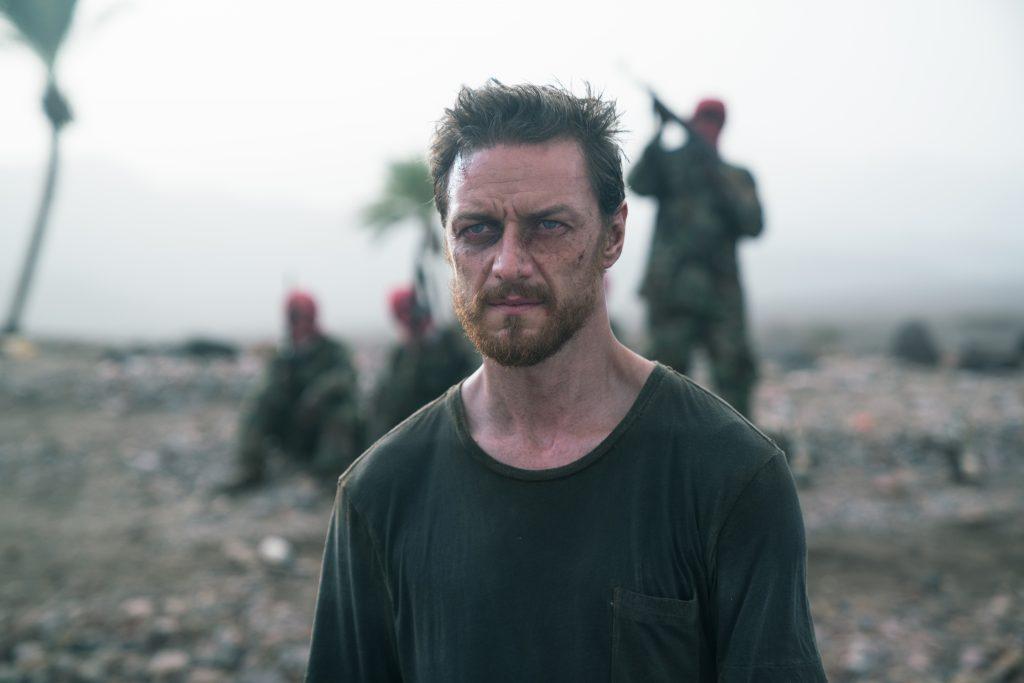 James Moore (James McAvoy) steht kurz vor dem Zusammenbruch ©Submergence SARL