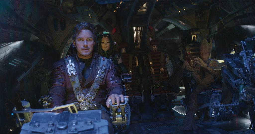 Die Guardians of the Galaxy, hier an Bord ihres Raumschiffs, waren einst auch unbekannte Marvel Helden.