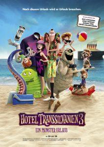 """Offizielles Filmplakat zu """"Hotel Transsilvanien 3"""" © Sony Pictures"""