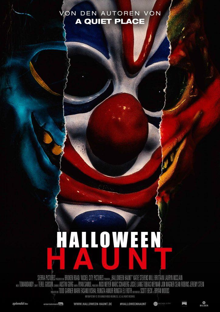 Kinoposter zu Halloween Haunt