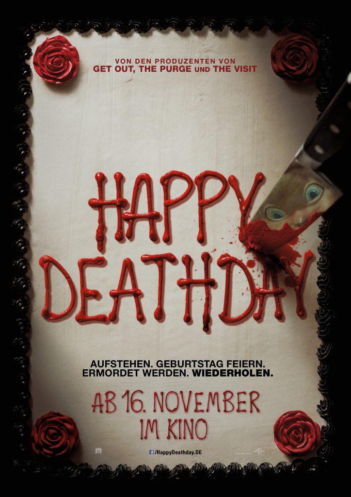 "Filmplakat zu ""Happy Deathday"" by Universal Pictures"