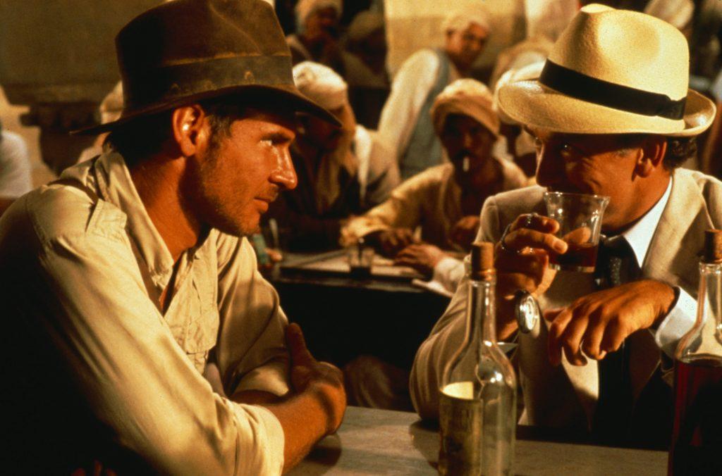 Harrison Ford als Indiana Jones in Jäger des verlorenen Schatzes von 1981