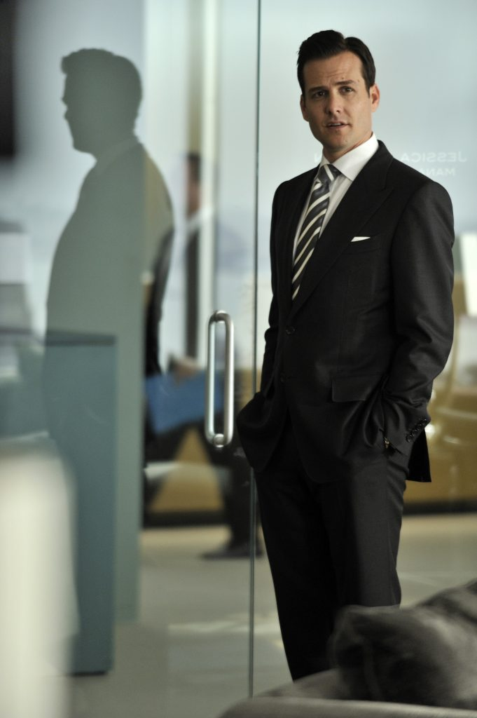 Harvey Specter als Anwalt in Suits!