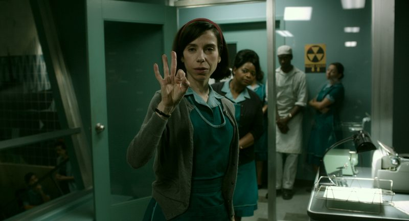 Hauptdarstellerin Sally Hawkins (Elisa) und Octavia Spencer (Zelda)