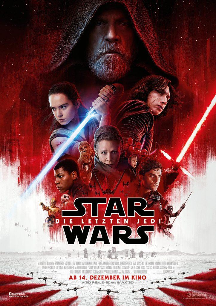 Hauptplakat zu Star Wars - Die letzten Jedi von 2017
