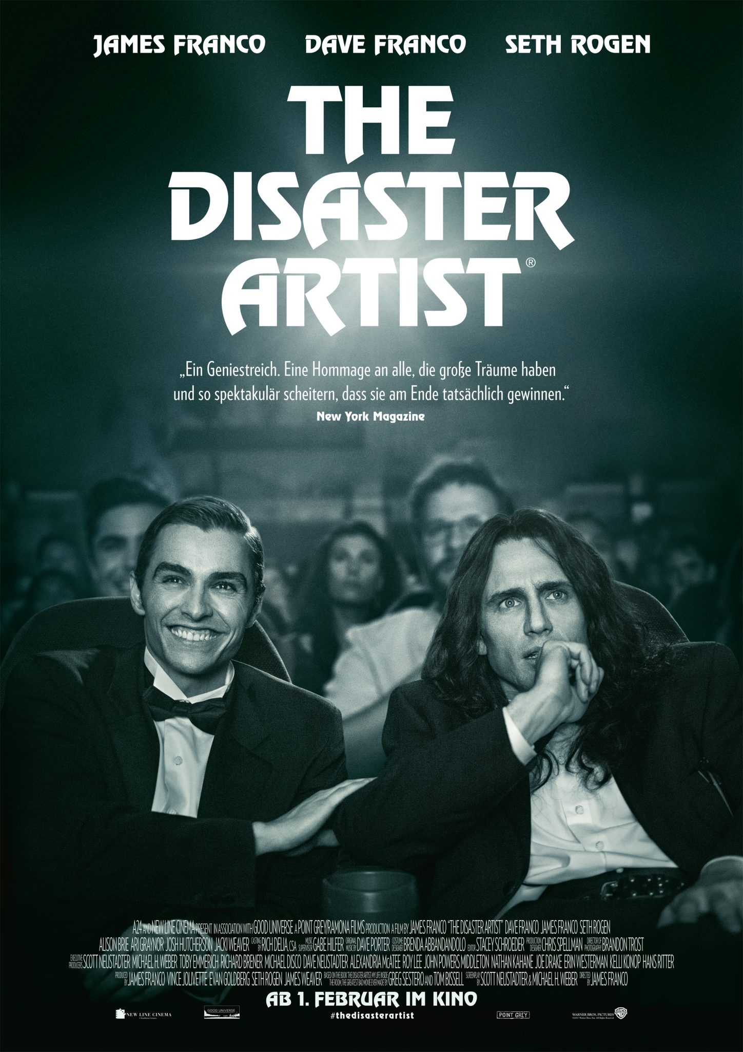 Hauptplakat zu The Disaster Artist von 2018