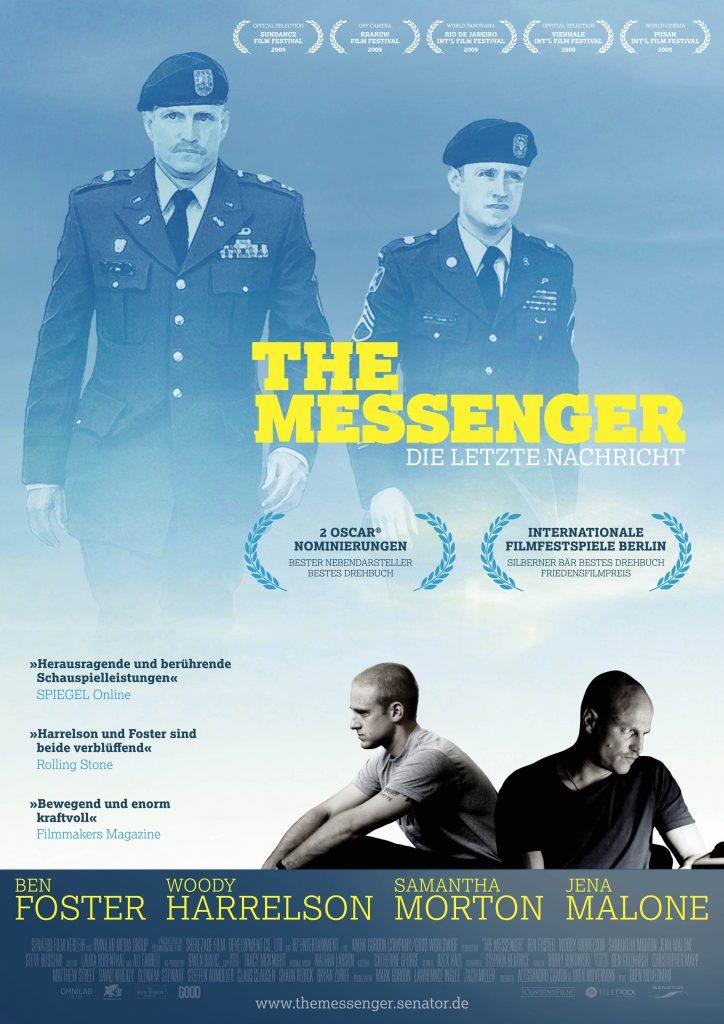 Hauptplakat zu The Messenger