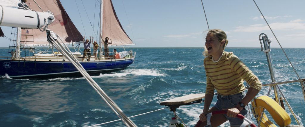 """Hier ist noch alles gut - Shailene Woodley in """"Die Farbe des Horizonts"""" © TOBIS Film GmbH"""