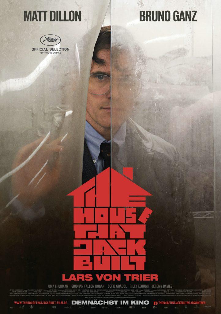 Das originale Kinoplakat zu The House That Jack Built © 2018 Concorde Filmverleih GmbH