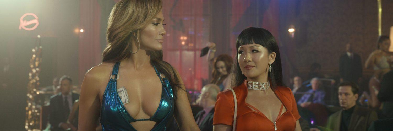 Ramona (Jennifer Lopez) zeigt Destiny (Costance Wu) wo es in Hustlers lang geht.